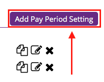 Add Pay Period Setting