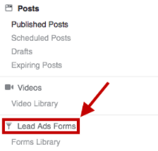 Lead Ads Forms