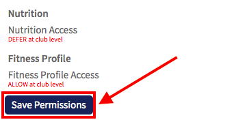 save permissions